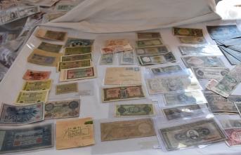 Asırlık paraları koleksiyonunda buluşturdu