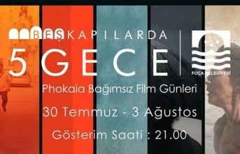 Phokaia Bağımsız Film Günleri başlıyor