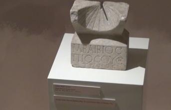 Roma dönemine ait güneş saati Çorum Müzesi'nde