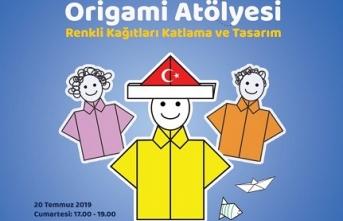 """""""Rüya Aydınoğlu ile Çocuklarla Origami Atölyesi"""""""