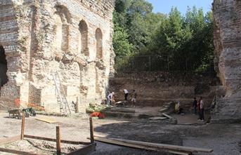 Sinop'ta 1500 yıllık kilise kalıntılarına ulaşıldı