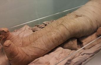 500 yaşındaki 'İnka kızı' mumyası Bolivya'ya geri gönderildi