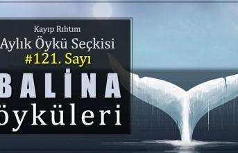 """Kayıp Rıhtım Aylık Öykü Seçkisi'nin 121. sayısında """"Balina Öyküleri"""" var!"""