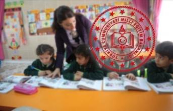 MEB'den okula başlayacak miniklere yeni program