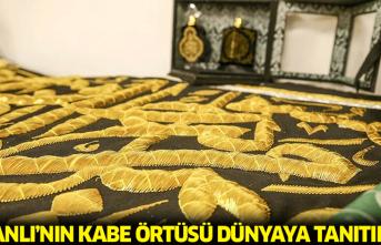 Osmanlı'nın Kabe örtüsü dünyaya tanıtıldı