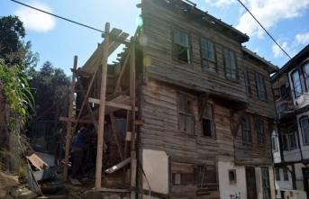 Sinop'ta Tarihi Rum Evleri restore ediliyor