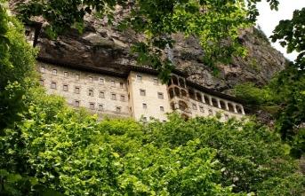 Sümela Manastırı'nda hedef 500 bin ziyaretçi