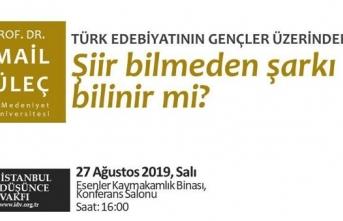 """""""Türk Edebiyatının Gençler Üzerindeki Etkisi: Şiir Bilmeden Şarkı Bilinir mi?"""""""