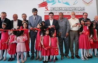 '5. Uluslararası İstanbul Arapça Kitap Fuarı' açıldı