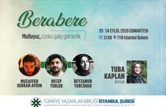 Berabere Programı Bu Hafta TYB İstanbul'da