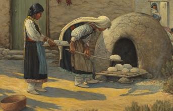 Gelenek ile yoğrulan ekmek