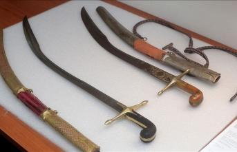Hırvat komutanın 'Osmanlı' kılıçları