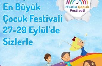 İstanbul Mutlu Çocuk Festivali 27 Eylül'de başlıyor
