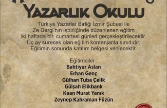 İzmir'de Yazarlık Okulu