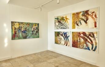 Küba asıllı sanatçı José Parlá'nın Türkiye'deki ilk sergisi ISTHMUS açıldı