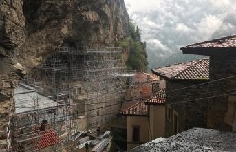 Sümela Manastırı'ndaki yapılar korumaya alındı