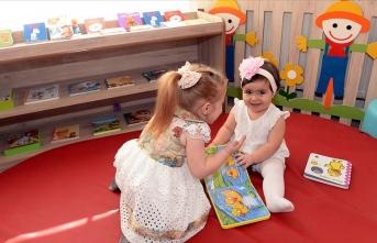 Türkiye'nin ilk Bebek ve Çocuk Kütüphanesi