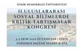 Uluslararası Sosyal Bilimlerde Kritik Tartışmalar Kongresi