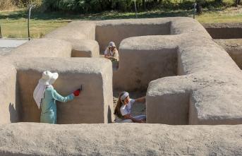 'Urartu aristokratları'nın yaşadığı yapılar ayağa kaldırıldı