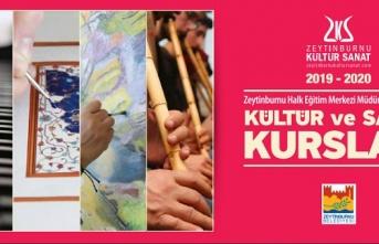 Zeytinburnu Belediyesi Kültür ve Sanat kursları başlıyor