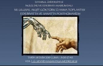 12. Ulusal Akşit Göktürk'ü Anma Toplantısı: Edebiyatta ve Sanatta