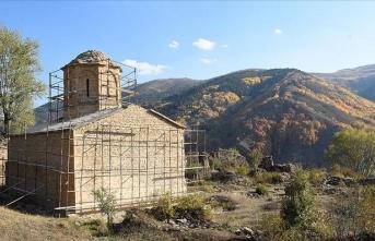 669 yıllık İmera Manastırı restore ediliyor