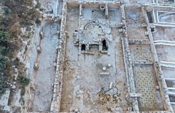 Batı Kudüs'te Bizans dönemine ait kilise bulundu