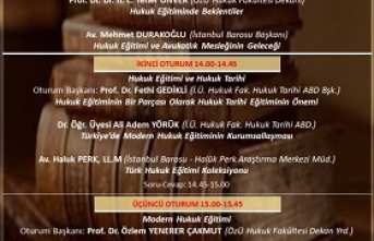 Panel: Türk Hukuk Eğitimi