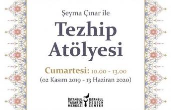 """""""Şeyma Çınar ile Tezhip Atölyesi"""""""
