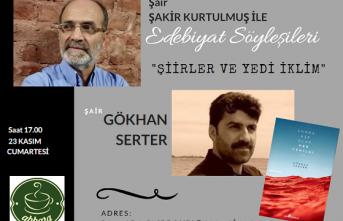Abbara Kafe Edebiyat Söyleşilerinin konuğu Gökhan Serter