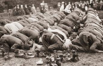 Birinci Dünya Savaşı'nda İngiltere saflarında savaşan Müslümanlar