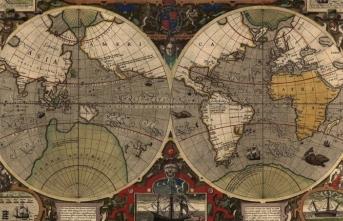 """Haritanın adı """"Edebiyat Atlası"""""""