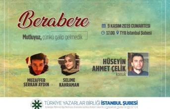 Hüseyin Ahmet Çelik Berabere programına konuk oluyor