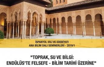 """İhsan Fazlıoğlu: """"Toprak,Su ve Bilgi:Endülüs'te Felsefe-Bilim Tarihi Üzerine"""""""