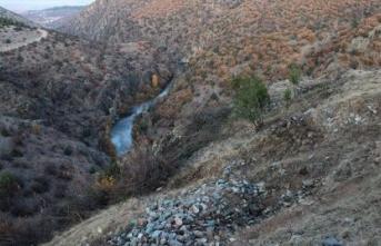 """Kastamonu'daki """"Gavur Kayalıkları""""nda kurtarma kazısı başladı"""