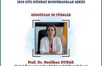 "Konferans: ""Hindistan ve Türkler"""