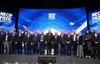 '2019 Necip Fazıl Ödülleri' sahiplerini buldu