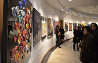 Çorum'da 41 ressamdan ortak 'Hitit' sergisi