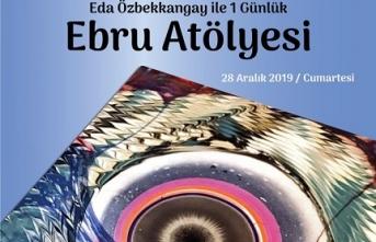 """""""Eda Özbekkangay ile Çocuklar ve Yetişkinler için 1 Günlük Ebru Atölyesi"""""""
