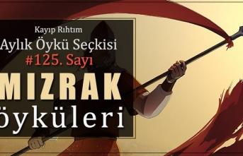 """Kayıp Rıhtım Aylık Öykü Seçkisi'nin 125. sayısında """"Mızrak Öyküleri"""" var!"""
