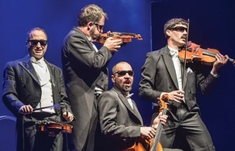 Klasik müziği güldürü ile harmanlayan Pagagnini, Cemal Reşit Rey Konser Salonu'nda