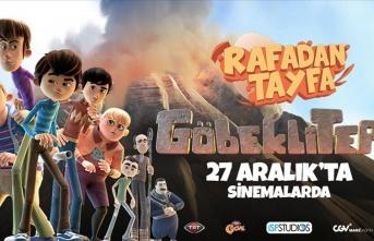 'Rafadan Tayfa'nın maceraları tarihi Göbeklitepe'ye taşındı