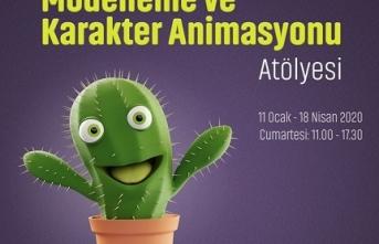 """""""Temel Düzey Modelleme ve Karakter Animasyon Atölyesi"""""""