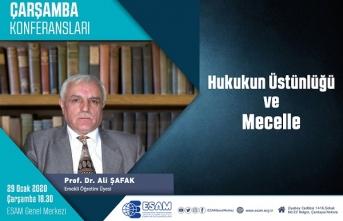 """Konferans: """"Hukukun Üstünlüğü ve Mecelle"""""""