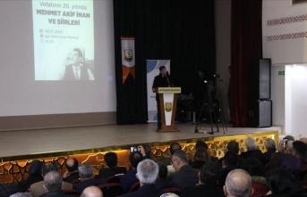 'Kudüs şairi' Mehmet Akif İnan memleketi Şanlıurfa'da anıldı