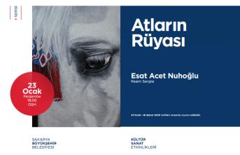 Resim sergisi: Atların Rüyası