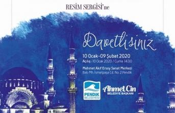 """Sinan'ın İstanbul'u"" resim sergisi"
