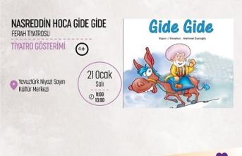 Tiyatro Gösterimi: Nasreddin Hoca Gide Gide