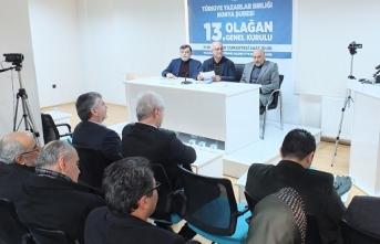 TYB Konya Şubesinin yeni başkanı Ahmet Köseoğlu oldu.