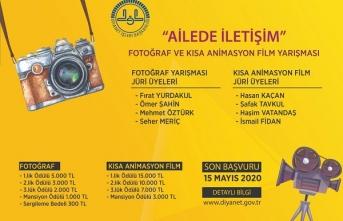 """""""Aile İçi İletişim"""" Fotoğraf ve Animasyon Kısa Film Yarışması"""